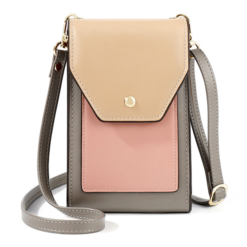 Brand Women Handbags Fashion Mini Bag Cell Phone Bags Small Crossbody Bags Casual Ladies Flap Shoulder Bag Female Bolso Leather