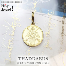Charm Pendant Magical Symbols Coin,2019 New Europe Style Jewelry For Women Men Trendy Gift In 925 Sterling Silver Fit Bracelet