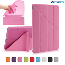 Ultra Thin Stand PU Leather case for apple ipad 2/3/4 case soft Back Flip Smart cover for iPad 2017 9.7inch 2018 Table Case+film