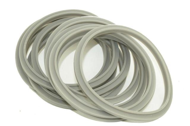 4 sztuk wymiana uszczelki uszczelki gumowe uszczelka szary pierścień dla Nutribullet 900 Pro 900W