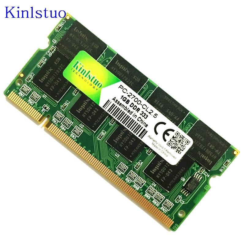 Для Тетрадь Sodimm Memoria ноутбук с оперативной памятью в SO-DIMM PC2700/PC3200/PC2100 DDR 400/333 /266 МГц 200PIN ddr1 1 Гб 400