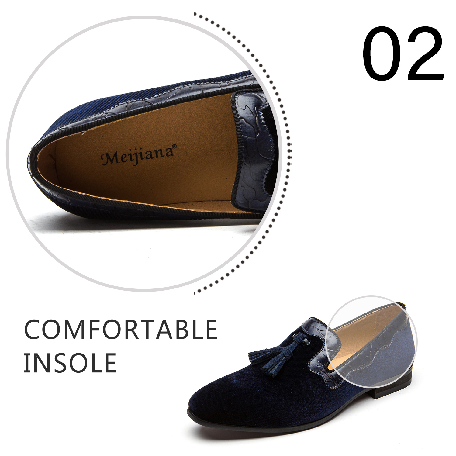 Color : White, Size : 48 Hy Mens Formal Shoes Patent Leather Spring//Fall Comfort Business Shoes//White//Blue//Black// Brown//Pointed Wedding Shoes//Office /& Career Party /& Evening