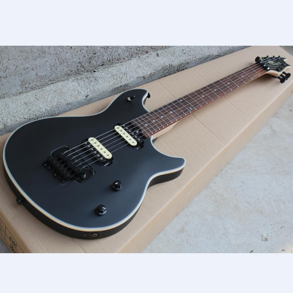 Satin Black Evh Wolfgang Electric Guitar Eddie Van Halen Wolfgang Guitar Free Shipping Zebra Pickup Floyd Guitar Aliexpress