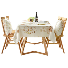 Clean-Tablecloth Rectangular Waterproof Polyester Household Nordic And Wipe Microfiber