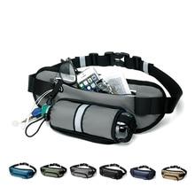 Multi-function Waist Pack Outdoor bag Water bottle Stretch bag Sports Pocket Men And Women Running Fitness Belt Mobile Phone Bag недорого