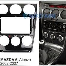 9 дюймов Автомобильная панель безопасности для MAZDA 6, Atenza 2002-(с материнской платой переменного тока) Переходная панель Dash комплект адаптер ободок консоль пластина