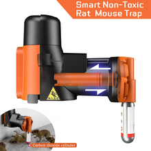 Automatic Humane Non-Toxic Rat and Mouse Trap Kit  Rat Mouse Multi-catch Trap Machine With CO2 Cylinders Humane Non-toxic Smart