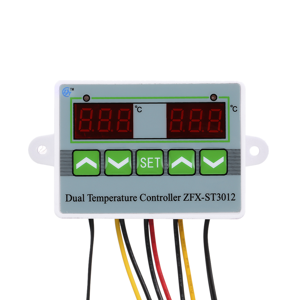 Sensor Temperature Controller Regulator Set Digital Module Thermostat Incubator