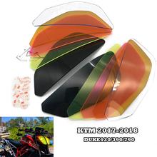 Reflektor motocyklowy Screen Protector soczewka ochronna osłona reflektora tarcza dla DUKE 125 DUKE 390 2017-2018 DUKE 790 2018 tanie tanio zone dash CN (pochodzenie) KTM DUKE120 390 790 Do motocykli KTM Obejmuje listew ozdobnych 0 35kg