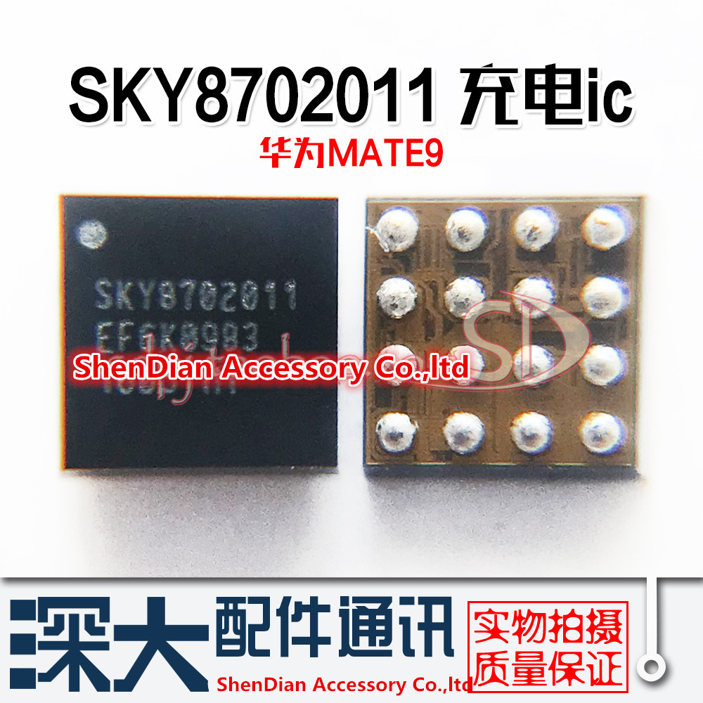 5pcs 100% Orginal New Power Amplifier Charging IC SKY8702011 8702013 16Foot Power IC