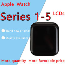 For Apple Watch Series 2 LCD Display Touch Screen Digitizer 38mm/42mm Pantalla Replacement For iwatch S1-S5 LCD+Tempered Glass