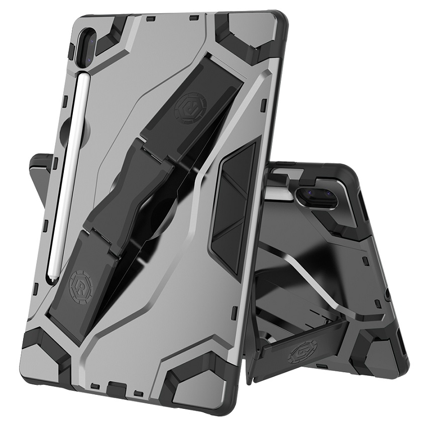 """Hand strap Case For Samsung Galaxy Tab s6 10.5"""" SM-T860 T865 Tablet Shell TPU + PC Heavy Duty Armor Case Hybrid Rugged Rubber"""