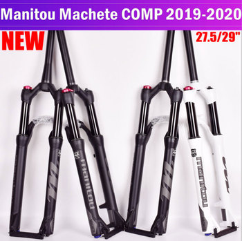 Suspenion Fork Manitou Machete Comp Machete 27.5 29er Mountain Bike MTB air Forks Top Quality 2017 ievele full carbon fiber mountain bike fork bicycle forks 26 27 5 29er mtb carbon fork bike accessories disc 160