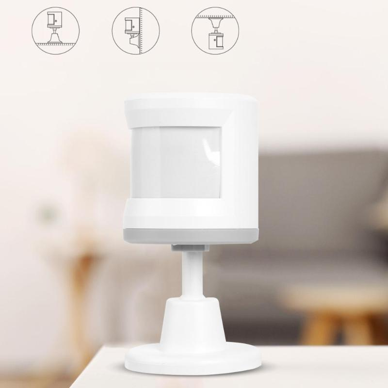 2.5-3.3V 2.4GHz Wireless WiFi Human PIR Motion Sensor Alarm Detector Home Alarm System Security Device For Android/IOS