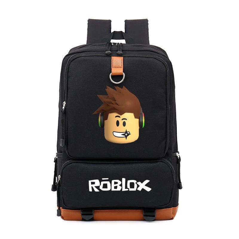 School Bags roblox backpack for teenagers Girls Kids Boys Children Student travel backpack Shoulder Bag Laptop bolsa escolar