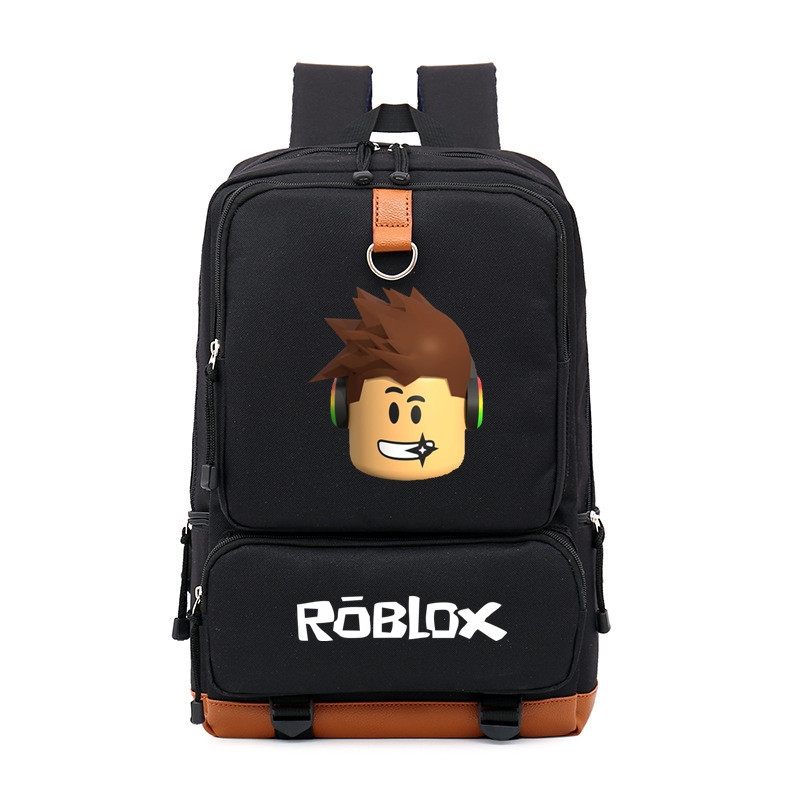 School Bags Roblox Backpack For Teenagers Girls Kids Boys Children Student Travel Backpack Shoulder Bag Laptop Bolsa Escolar