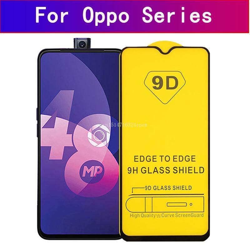 Tempered Glass For OPPO Realme X Z 5 Xlite C2 Reno Z A 2F F11 Z1 Pro Protector Cover Protective Glass Film