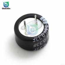 5,5 V 0.22F 0.47F 0.33F Кнопка Тип супер конденсатор с алюминиевой крышкой, электрические двуслойный конденсатор с алюминиевой крышкой, электрический игрушечный автомобиль резервное питание