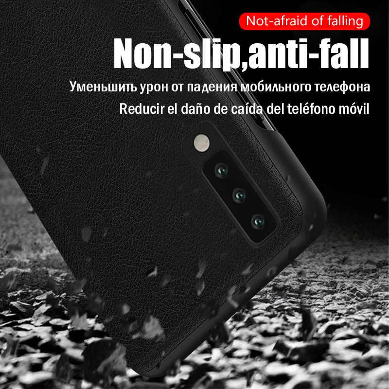 Luxe Originele Smart Window Flip Cover voor Samsung Galaxy S8 S9 S10 Plus S10E Note 8 9 10 Pro A10S a20 A30 A40 A50 A60 A70 Case