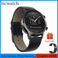 Ticwatch C2 Smartwatch Android Wear OS wbudowany gps tętno tracker do monitorowania aktywności fizycznej Google Pay 400mAh 1-1.5 dni 1.3 ''AMOLED