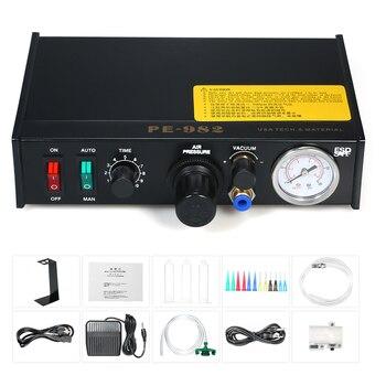 Halbautomatische Kleber Dispenser Maschine Professionelle Präzise Abgabe Controller Kleber Maschine Digital Control DripGluing Maschine