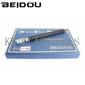 Супер качество! BEIDOU-NIKKEN резец для стекла с медной ручкой. Толщина резки 6-12/15-19/19-25 мм.