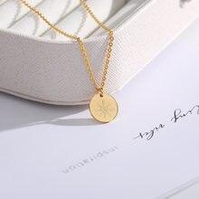 Простой золото кольцо с бриллиантом Нерегулярные Ожерелье «солнце»