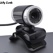HD Webcam Computer Jelly Comb Microphone Laptop Desktop with Noise-Reduction Web-Camera