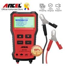 ANCEL BST100 testeur de batterie de voiture 12V analyseur de chargeur 2000CCA Test de tension de démarrage charge Cricut outils de charge testeur de batterie de voiture