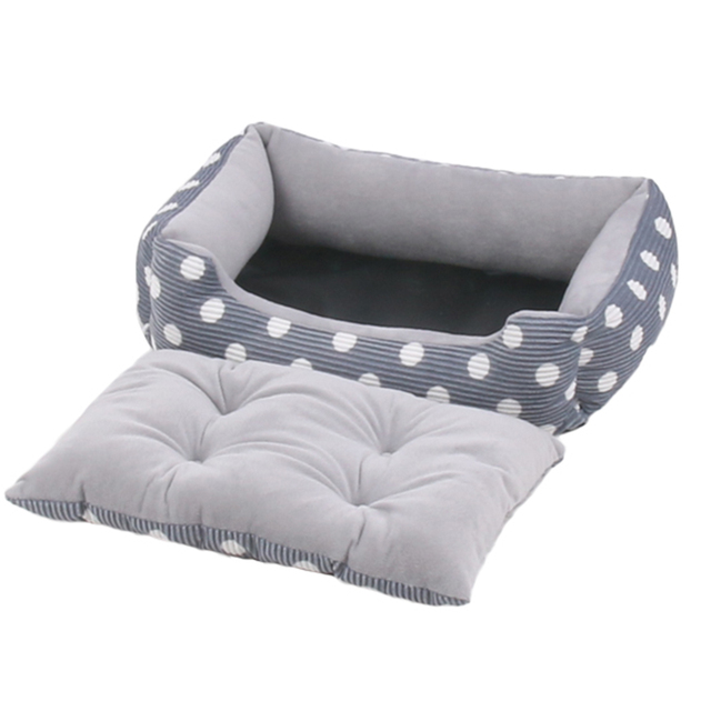 Plush Bed with Removable Pad  4