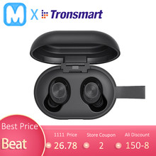 Tronsmart Gagah Mengalahkan Bluetooth Tws Earphone IPX5 Tahan Air Nirkabel SoundSport Earphone True Wireless Stereo Speaker(China)