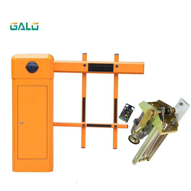 High Integration Customizable Fast Speed Parking Lot Barrier Access Control System Road Gate For Exit Entry Fence Barrier Gate