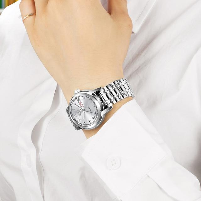 2020 LIGE Top Brand Luxury Women Watches Waterproof Fashion Ladies Watch Woman Quartz Wrist Watch Relogio Feminino Montre Femme