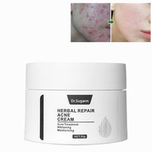 Dr.Sugarm Herbal Repair Acne Whitening Face Cream Moisturizing Anti Wrinkle Anti Aging Face Fine Lines Treatment Skin Care Serum цена 2017