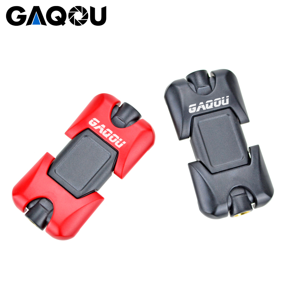 GAQOU Uniwersalny adapter do montażu na statywie do uchwytu na - Aparat i zdjęcie - Zdjęcie 3