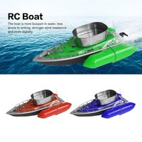 EAL T10 RC Boat Intelligent Wireless Electric Fishing Bait Remote Control Boat Fish Ship Searchlight Toy Gifts For Kids