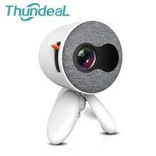 Thundal YG300 YG310 تحديث الإصدار YG220 جهاز عرض صغير المحمولة جيب لطيف الاطفال هدية Projetor فيديو HDMI USB ثلاثية الأبعاد LED متعاطي المخدرات