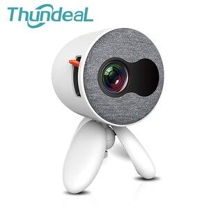 Image 1 - ThundeaL YG300 YG310 עדכון גרסה YG220 מיני מקרן נייד כיס חמוד ילדים מתנה Projetor וידאו HDMI USB 3D LED מקרן