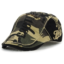 Cotton Men Golf Beret Cap Adjustable Flat Cabbie Newsboy Hat Outdoor Camping Hiking Sun Hathot