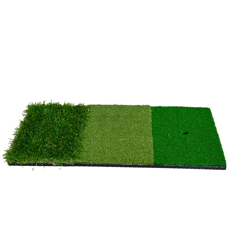 Convenient And Easy To Carry Mini Golf Mats Multifunctional Three Grass Mini Mats Golf Mats