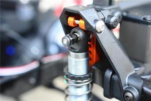 Image 4 - Traxxas TRX 4 defender liga de alumínio frente e traseira ajustável suporte hidráulico trx4 suporte suspensão 1/10 rc carro escalada