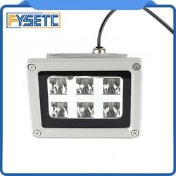 Haute qualité 110-260V 405nm UV LED résine lampe de polymérisation pour SLA DLP 3D imprimante accessoires photosensibles offre spéciale