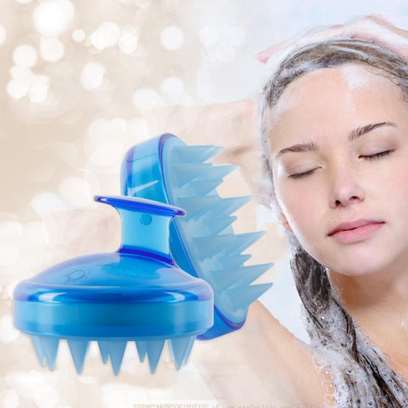 1 шт., силиконовая расческа для мытья волос