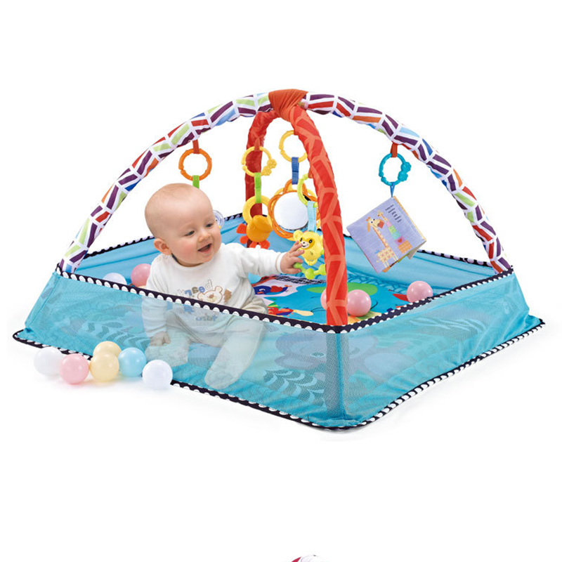 Early Development Of Baby Carpet Activity Pad Baby Activity Mat Game Pad Ocean Ball Pool