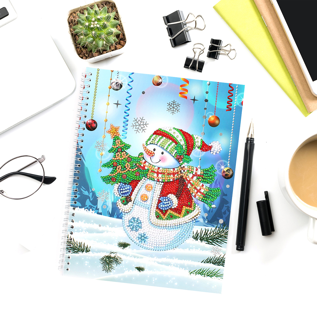 Azqsd 50 Pages Diamond Painting Notebook Diy Christmas Special