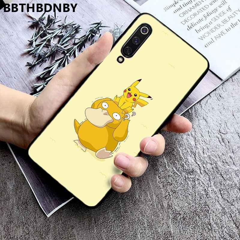 جراب هاتف Pikachue الفيلم كوكه شل حقيبة لهاتف xiaomi 8 9 se Redmi 6 6pro 6A 4X7 ملاحظة 5 7