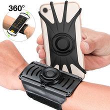 Esecuzione Sport Cassa Del Telefono Da Polso della Fascia di Braccio Per Il IPhone 11 Pro Max X XR 6 7 8 Più di Samsung Note 10 S9 P30 PALESTRA Wristband Per LG Pixel