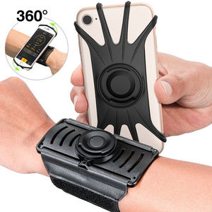 Image 1 - Running Sports Phone Case Wrist Arm Band For IPhone 11 Pro Max X XR 6 7 8 Plus Samsung Note 10 S9 P30 GYM Wristband For LG Pixel