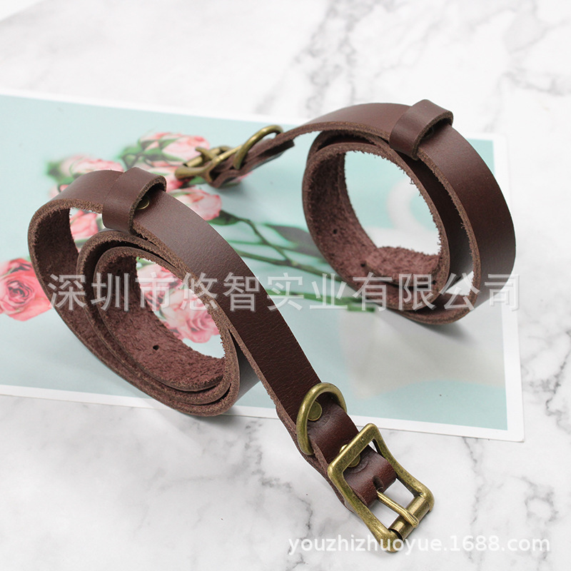 A Grant From Genuine Leather Pet Collar Adjustable Dog Hand Holding Rope Medium Large Dog Of Dog Traction Rope