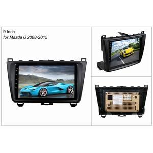 Image 2 - SINOSMART Stock in Russia EU 2.5D IPS 2G RAM Car GPS Navigation Player for Mazda 6 2008 2012 32EQ DSP, 4G SIM Card Slot Optional